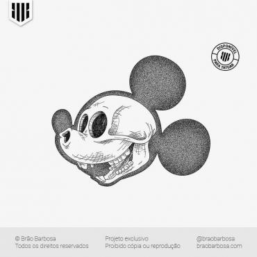 Skull - Mickey