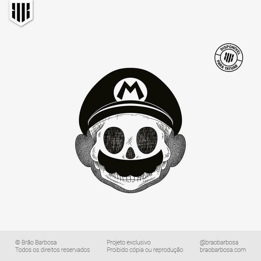 Skull - Mário